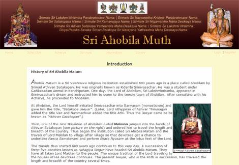 ahobilamutt.org