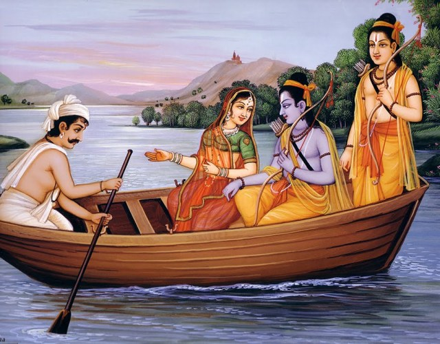 Sri Rama and Guha